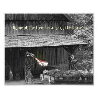 Home of the Free... Photo Print