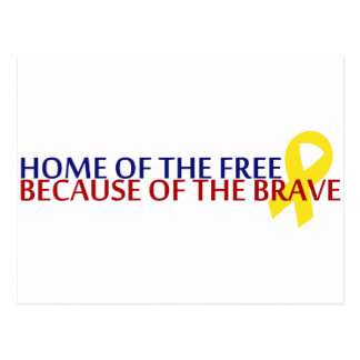 Home of the Free Postcard