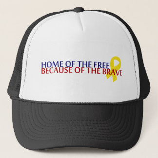 Home of the Free Trucker Hat
