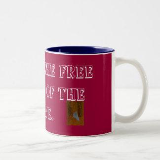 Home Of The Free Two-Tone Coffee Mug