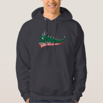 Home of the Hodag, Rhinelander, WI Hoodie