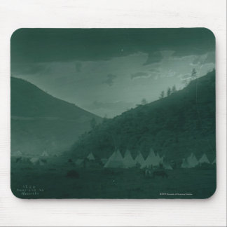 Home of the Mountain Crow Mouse Pad