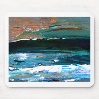 Home of the Sea Ocean Waves Sea Art Mousepad