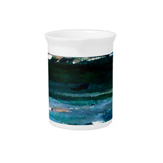 Home of the Sea Ocean Waves Sea Art Drink Pitchers