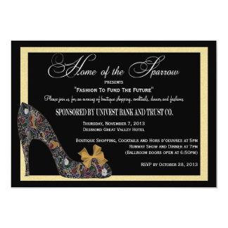 Home of the Sparrow Fashion Show Reduced Card