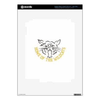 Home of the Wildcats iPad 3 Skin