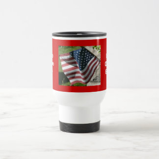 Home Of TheFree, Land Of TheBrave Travel Mug
