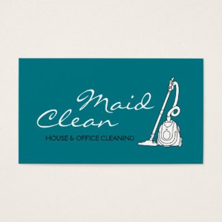 Home, Office Cleaning Company Business Card