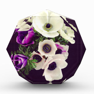 Home Office custom personalize business flowers Acrylic Award