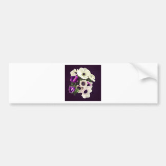 Home Office custom personalize business flowers Bumper Sticker