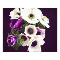 Home Office custom personalize business flowers Flyer