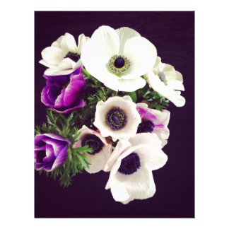 Home Office custom personalize business flowers Letterhead