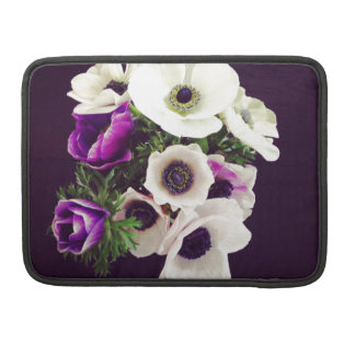 Home Office custom personalize business flowers Sleeve For MacBooks