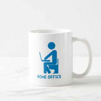 Home Office Classic White Coffee Mug