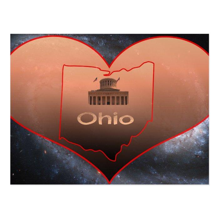 Home Ohio Postcard