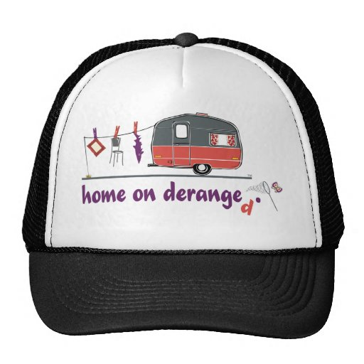 Home on Deranged Trucker Hat