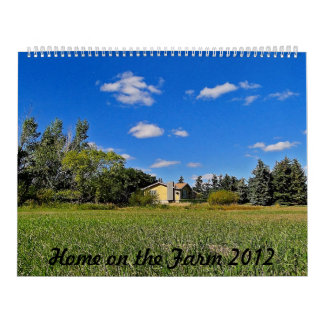 Home on the Farm 2012 Calendar