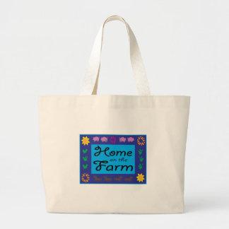 Home On The Farm Canvas Bag