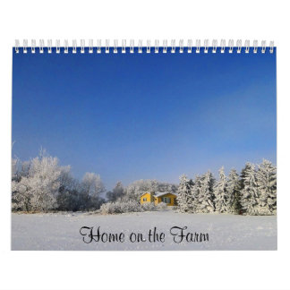 Home on the Farm Calendar