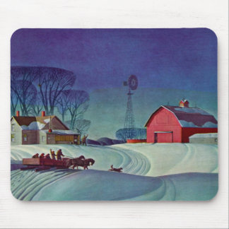 Home On The Farm Mouse Pad