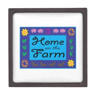 Home On The Farm Premium Trinket Boxes