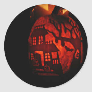 Home on the Lantern Classic Round Sticker