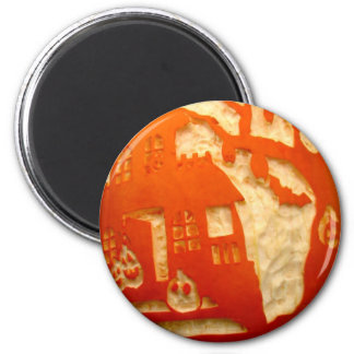 Home on the Pumpkin Magnet