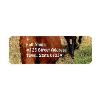 Home on the Range Address Labels