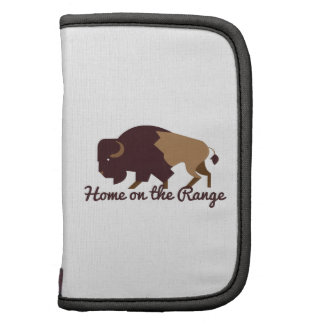 Home on the Range Folio Planners