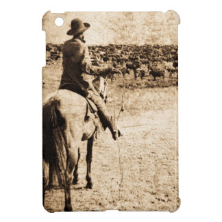 Home on the Range Vintage Cowboy Old West iPad Mini Case