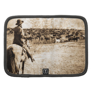 Home on the Range Vintage Cowboy Old West Planners