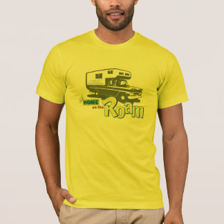 Home on the Roam retro pickup camper truck RV T-Shirt