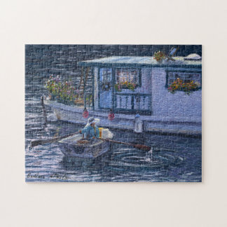 """""""Home On the Water"""" Jigsaw Puzzle"""