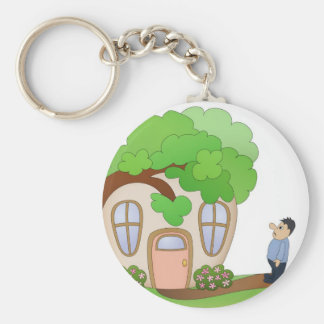 Home Owner Disaster Day Keychain