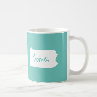 Home Pennsylvania Custom Color Coffee Mug
