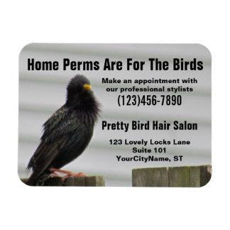 Home Perm Salon Stylist Magnet
