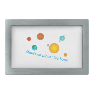 Home Planet Belt Buckle