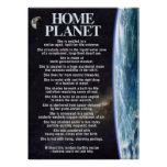 Home Planet Earth poster