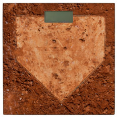 Home Plate Bathroom Scale at Zazzle