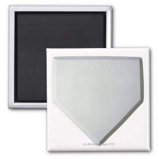 Home plate magnet