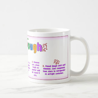 Home Play Dough Recipe Mug