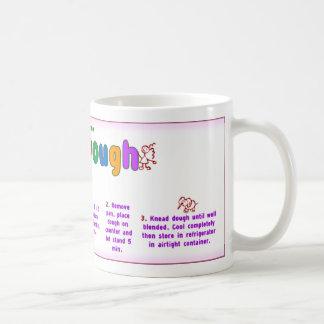 Home Play Dough Recipe Mug