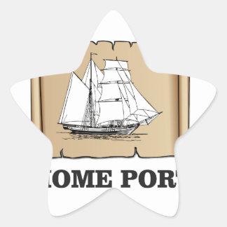 home port go star sticker