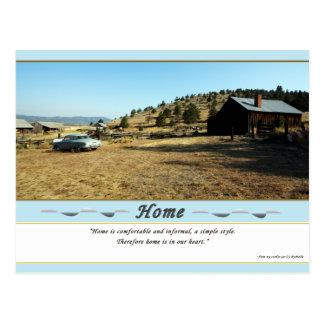 HOME  (Postcard) Postcard