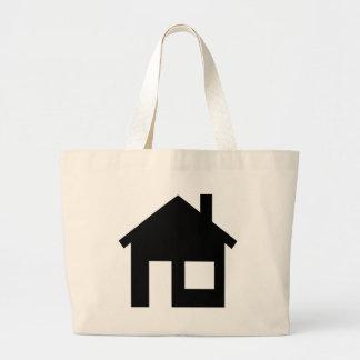 Home real estate tote bag