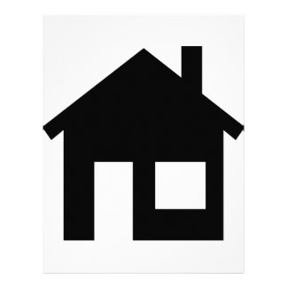 Home real estate letterhead template