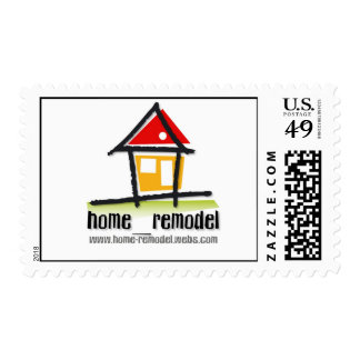 home_remodel Postage Stamps