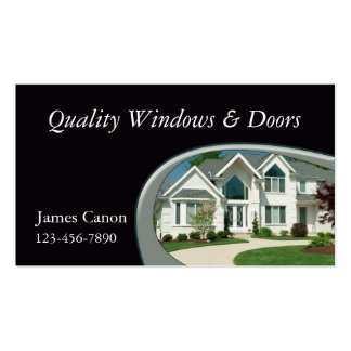 Home Remodeler Business Card Template