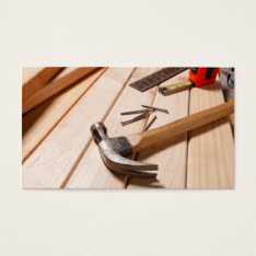 Home Remodeling/carpentry Business Card at Zazzle