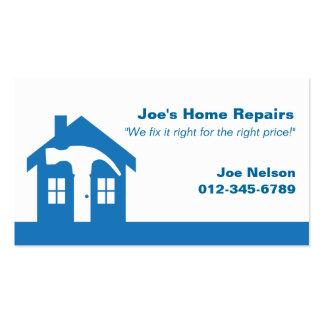 Home Repair/ Blue Business Card